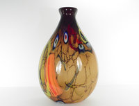 Abstract Colage Vase
