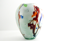 White Vase (with Red/Orange/Yellow/Green/Blue)