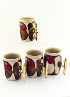 Valentino Mugs Four-Piece Set