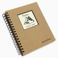 Horses Write-It-Down Journal (Brown)
