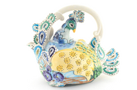 Pretty Peacock Teapot