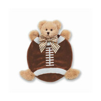 Wee Touchdown Teddy Bear Football Blanket