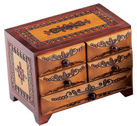 Five Drawer Chest M. Cornell