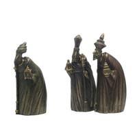 Three Wisemen Nativity Figurines by Ima Naroditskaya