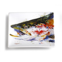 """Dean Crouser's """"Rainbow Trout"""" Snack Plate"""