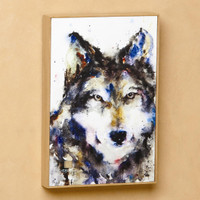 Traveler Wolf Wall Art, Dean Crouser