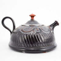 Small Black Teapot