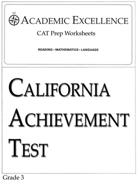 CAT Prep Pack: Grade 3 - PDF Download