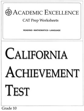 CAT Prep Pack: Grade 10 - PDF Download