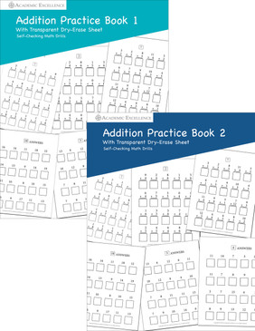 Addition Practice Book Bundle