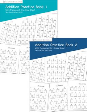 Addition Practice Book Bundle