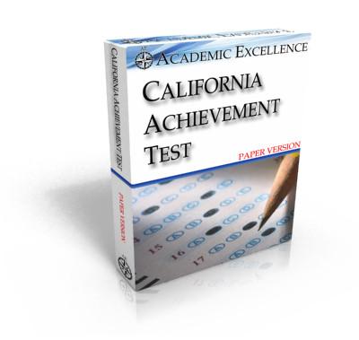 Paper California Achievement Test