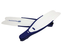 Kaudal Fins, Complete, Blue/White