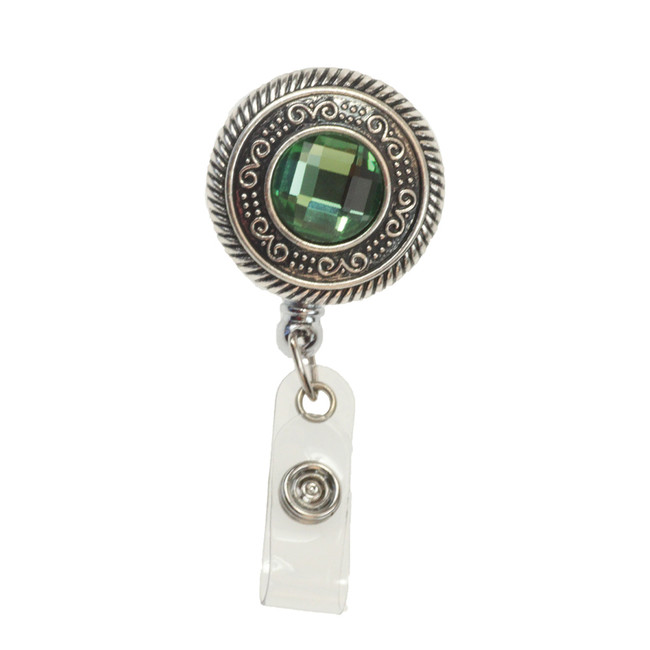 Vintage Round Badge Reel