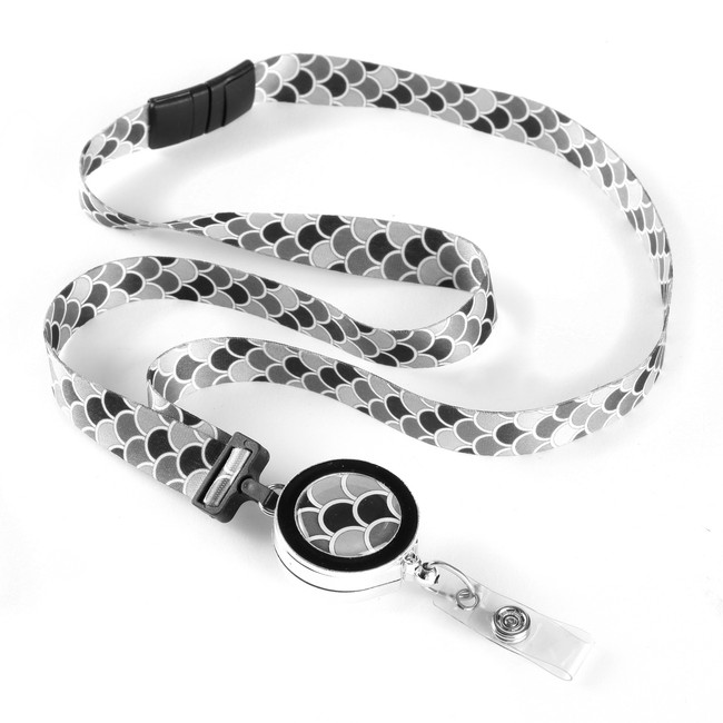 Scallop Ribbon Lanyard