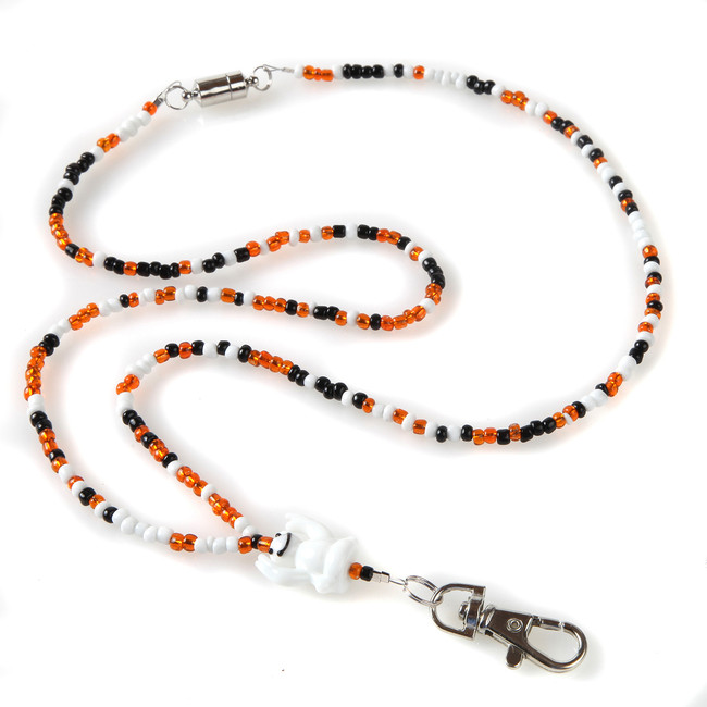 Ghost Beaded Lanyard
