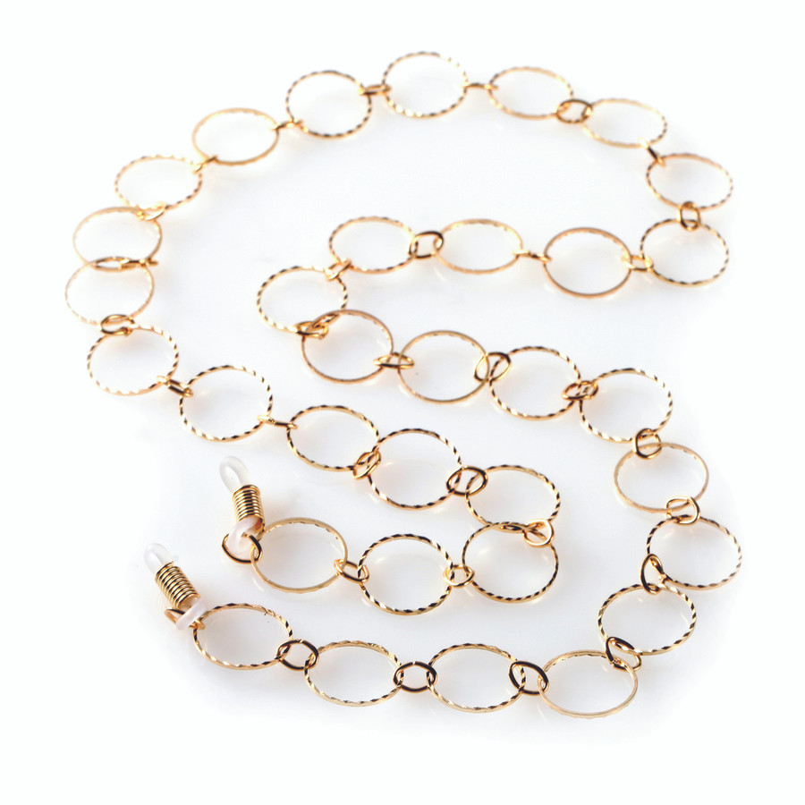 Tasha Gold Eyeglass Leash