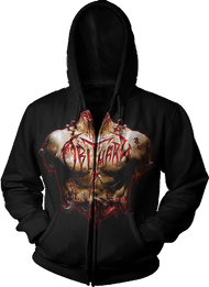 """Inked In Blood"" Zipper Hoodie"