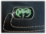 """Logo"" - Diecast Dogtag with Chain"