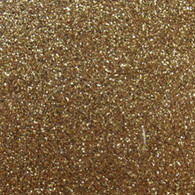 "Iron-on Old Gold Glitter 19.75"" x 36"""