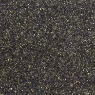 "Iron-on Black Gold Glitter 19.75"" x 36"""