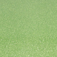 "Iron-on Light Green Glitter 19.75"" x 36"""