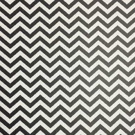 "Black Chevron (Matte) 12""x12"""
