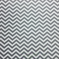 "Grey Chevron (Gloss) 12""x 24"""
