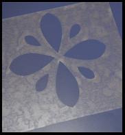 """Polycarbonate Stencil Sheet 12""""x12"""""""