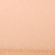 "Iron-on Translucent Orange Glitter 19.75"" x 12"""