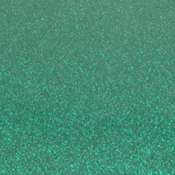 "Iron-on Emerald Glitter 19.75"" x 12"""