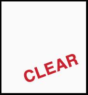 """Clear 751 (Gloss) 12"""" x 24"""""""