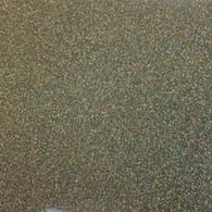 "Iron-on Gold Confetti Glitter 19.75"" x 12"""