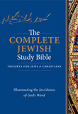 The Complete Jewish Study Bible: Illuminating the Jewishness of God's Word cover photo