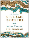 Streams in the Desert Morning and Evening: 365 Devotions cover photo