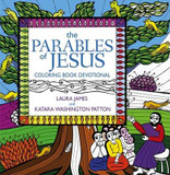 The Parables of Jesus Coloring Book Devotional cover photo