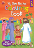 My Bible Stories Colouring Book 2 cover photo