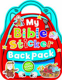 My Bible Sticker Backpack cover photo
