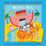 Noah's Ark: A Spot-the-Difference Jigsaw Book cover photo