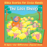 The Lost Sheep: A Spot-the-Difference Jigsaw Book cover photo