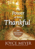 The Power of Being Thankful: 365 Life Changing Devotions cover photo