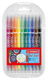 Stabilo Trio 2 in 1 Colouring Pens - 10pk [4006381375757]