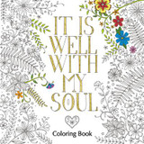 It is Well with My Soul Coloring Book cover photo