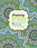 Inspiring Words: 30 Verses from the Bible you can colour cover photo