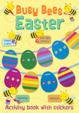 Busy Bees Easter Activity book with stickers cover photo