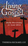 The Living Gospel Daily Devotions for Lent 2014 cover photo