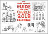 The Dave Walker Guide to the Church 2018 Calendar cover photo