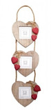 Picture frame x3 WD Hanging RED HRT 3x3 [HWPAA24]