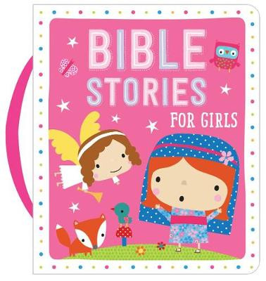Bible Stories for Girls (Pink) cover photo
