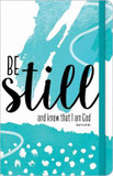 Be Still and Know that I Am God Journal cover photo
